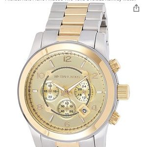 Men's Michael kors watch. Normal use. Two toned.